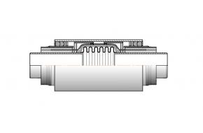 Сильфонный компенсатор СКУ.ППУ/ОЦ-16-150-150 ИЯНШ