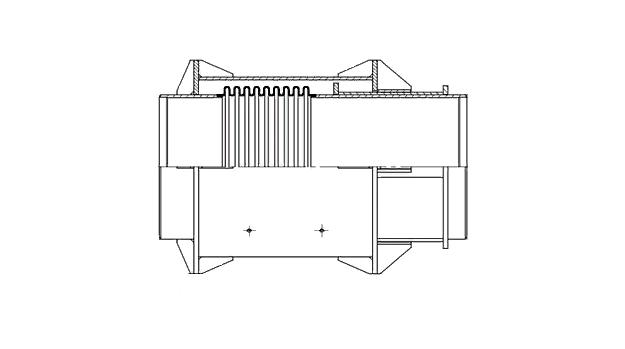 Сильфонный компенсатор КСО-25-250-160 ИЯНШ